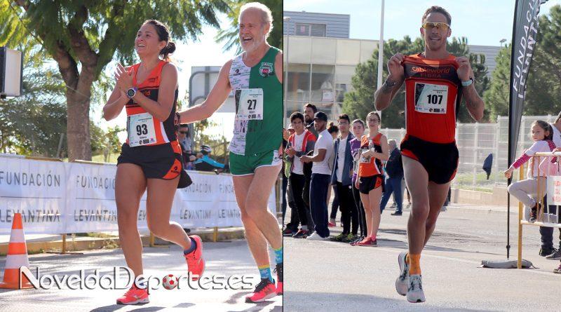 """Miguel Juan y Rebeca Pacheco del C.A.Cableworld consiguen la victoria 10k en la Carrera Solidaria Fundación Levantina """"Eres Capaz?"""""""