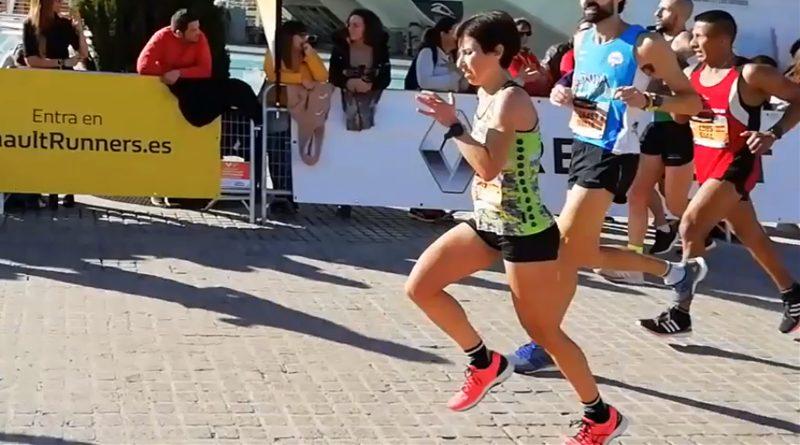 Candi García Subcampeona Autonómica en el Marathon de Valencia 2018