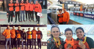 Numerosa representación del Club Atletismo Cableworld Novelda en la 38º Maraton y 10K Valencia Trinidad Alfonso