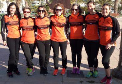 Doble participación de los atletas del Club Atletismo Cableworld durante el pasado fin de semana