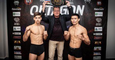 Kevin Martínez se enfrentará hoy a Manasak Pinsinchai por el título mundial de Lion Fight en Italia