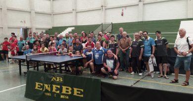 El tenis de mesa volvió al C.D.Cucuch
