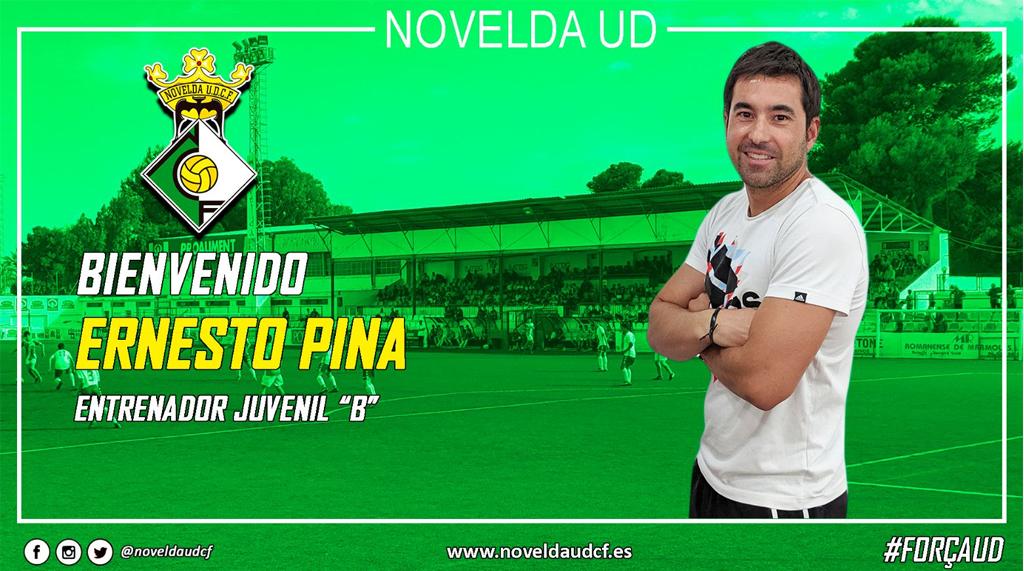 Ernesto pina nuevo entrenador del novelda ud juvenil b - Contactos novelda ...