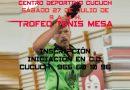 El próximo sábado 27 de julio se celebrará el I Trofeo Tenis de Mesa C.D. Cucuch