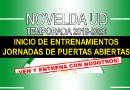 El Novelda UD realizará unas jornadas de puertas abiertas