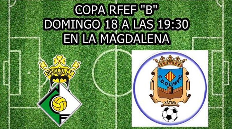 El Novelda C.F. disputará su primer partido oficial el próximo domingo en la Copa Real Federación Española de Fútbol
