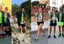 Los atletas del CA Ángel participaron en las carreras de Aspe, Tibi, Rojales, Alcoy y La Romana
