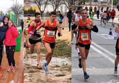 El Club Atletismo Cableworld participa en el Cross Ciutat de Xàtiva y en la Mitja Marató de Santa Pola