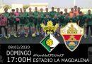 El Novelda C.F. recibirá al Elche C.F. «B» el próximo domingo en La Magdalena