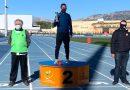 Cristian Ortiz del Club Atletismo Cableworld 2º Senior en el Cross de La Nucía.