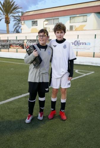 Antonio Boyer Albert y Javier Segura Ibañez entrenamiento oficial con la Seleccion Valenciana Sub-12 Alevin de Futbol 2