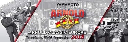Arnold Classic Europe de Barcelona
