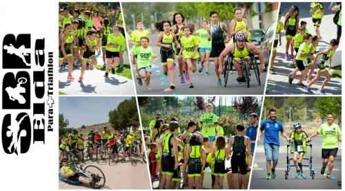 noticias novelda deportes sbr para+triathlon elda julio 2019