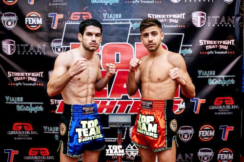 Kevin Martinez vs Alexis Barateau Muay Thay Top Team Fighters Torre Pacheco Murcia diciembre 2018 2