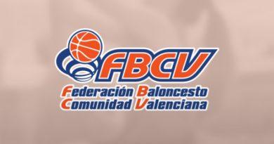 La Federación de Baloncesto de la Comunidad Valenciana suspende sus competiciones