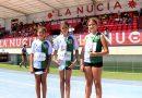 María Sánchez Subcampeona Provincial, María Sanchiz bronce y Martina García 4ª. Gran resultado de las atletas de la Escuela del Club Atlético Novelda Carmencita